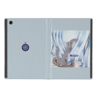 Celtic Anchor Nautical Choose Background Color Case For iPad Mini