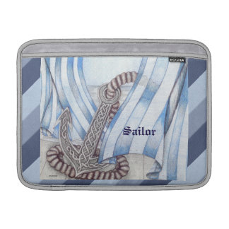 Celtic Anchor Nautical MacBook Sleeves
