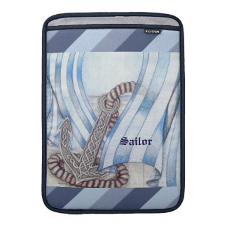 Celtic Anchor Nautical Sleeve For MacBook Air