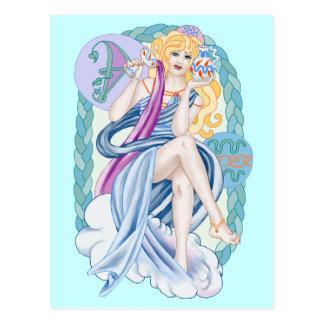 Celtic Aquarius Postcard