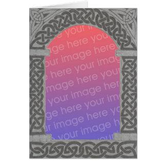 Celtic Archway Frame card 3