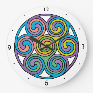 Celtic Art Clock