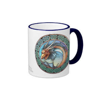 Celtic Art  Dragon Mug