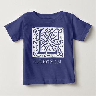 Celtic Baby Boy Name Begins with L Baby T-Shirt