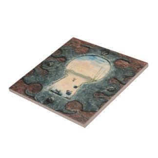 Celtic Beauty by Fine Artist Alison Galvan Ceramic Tiles