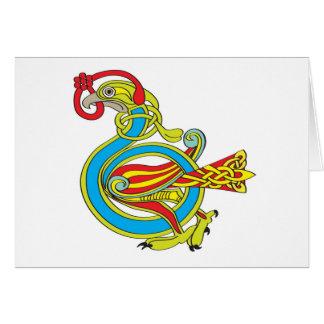 Celtic Bird Card