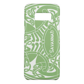 Celtic Bird Circle Pattern Personalized iPhone Case-Mate Samsung Galaxy S8 Case