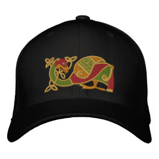 Celtic Bird Embroidered Hat