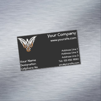 Celtic Bird Magnetic Business Card