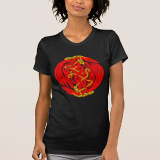 Celtic Birds (fire version) T-Shirt