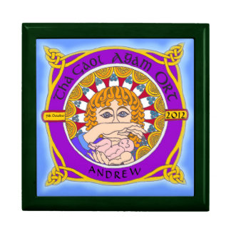 Celtic Birth Blessing Jewellery Box Gift Boxes