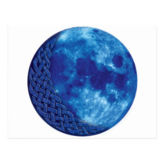 Celtic Blue Moon Postcard
