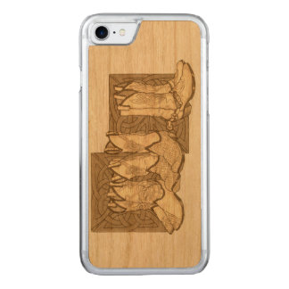 Celtic Boots Carved iPhone 7 Case