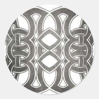 Celtic Breizh Brittany Classic Round Sticker