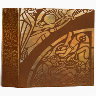 Celtic Brown Suade Tribal Art Binders