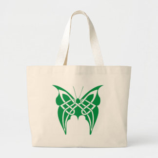 Celtic Butterfly Large Tote Bag