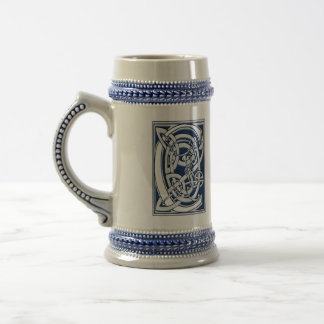Celtic C Monogram Beer Stein