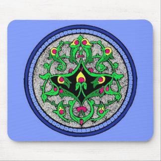 Celtic cartouche mouse pad