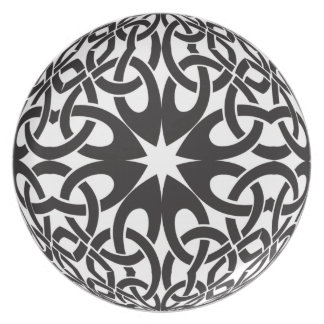 Celtic Circle Party Plate