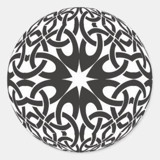Celtic Circle Round Sticker