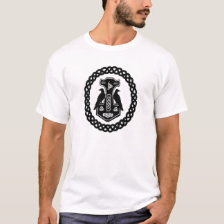 Celtic Circle Thor's Hammer T-Shirt
