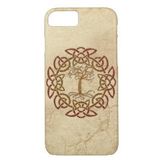 Celtic Circle Viking Tree of Life Phone Case