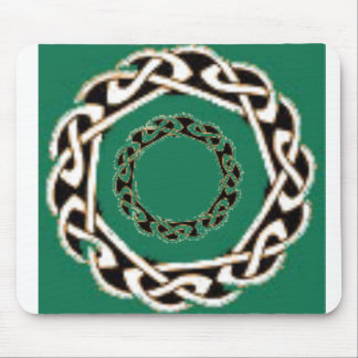 Celtic circles mouse pad