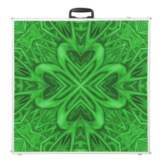 "Celtic Clover 2 Kaleidoscope 96"" Pong Table"