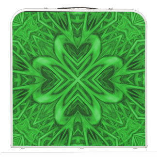 Celtic Clover 2 Kaleidoscope Tailgate Pong Table