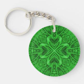 Celtic Clover Acrylic Keychains, 6 styles Keychain