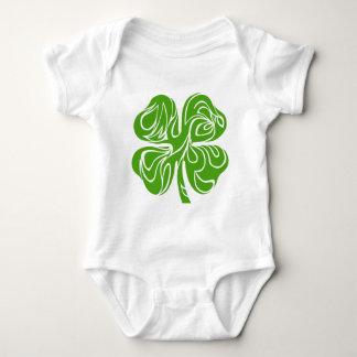 Celtic clover baby bodysuit