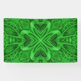 Celtic Clover     Banners, 4 sizes Banner