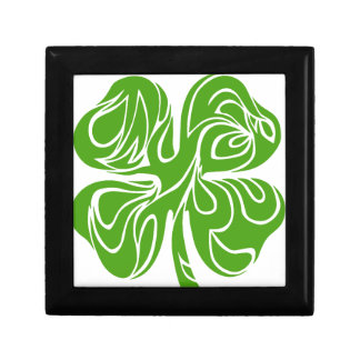 Celtic clover gift box