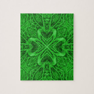 Celtic Clover Jigsaw Puzzle with Gift Box