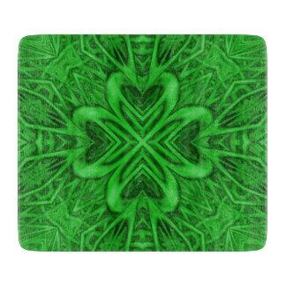 Celtic Clover Kaleidoscope Cutting Boards