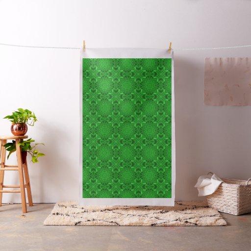 Celtic Clover Kaleidoscope   Fabric, 7 styles Fabric