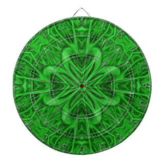 Celtic Clover Kaleidoscope Metal Cage Dartboards