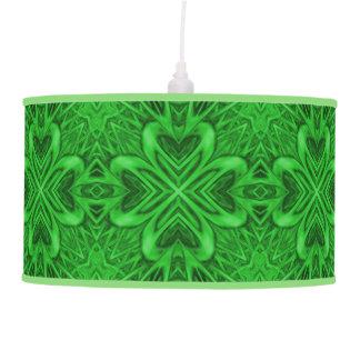 Celtic Clover Kaleidoscope  Pendant Lamp