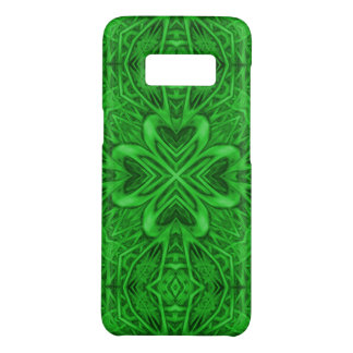 Celtic Clover Kaleidoscope  Phone Cases