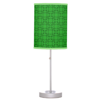 Celtic Clover Kaleidoscope Table Lamp