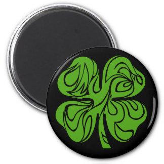 Celtic clover magnet
