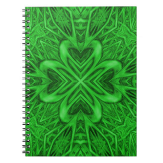 Celtic Clover Notebook
