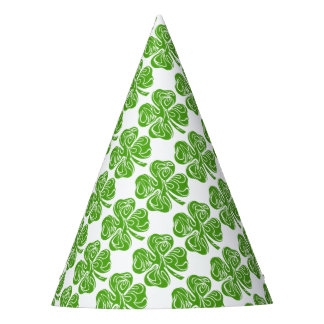Celtic clover party hat