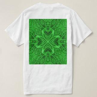 Celtic Clover Shirts Back