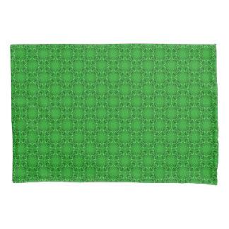 Celtic Clover Vintage Kaleidoscope   Pillowcases