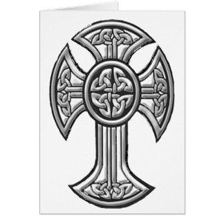 Celtic Cross 2 Black Card