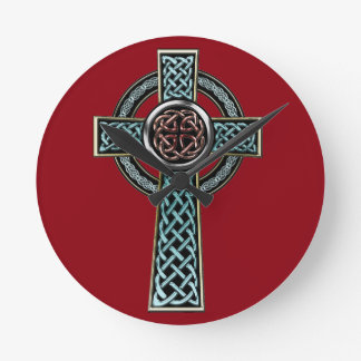 Celtic Cross 2 Clocks