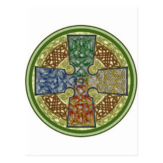 Celtic Cross 4-Color Postcard