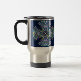 Celtic Cross 5 Travel Mug