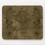 Celtic Cross and Celtic Knots Mouse Pads